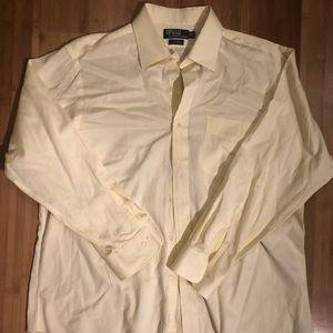 Polo by Ralph Lauren Yellow Dress Shirt